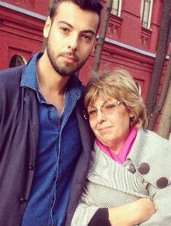 Елисей Полищук с мамой