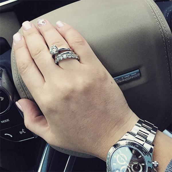 обручальное кольцо бородиной и курбана