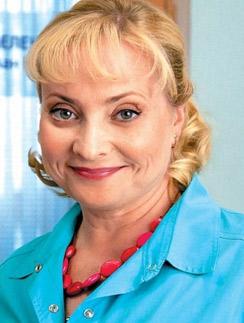 Светлана Пермякова в образе медсестры Любы