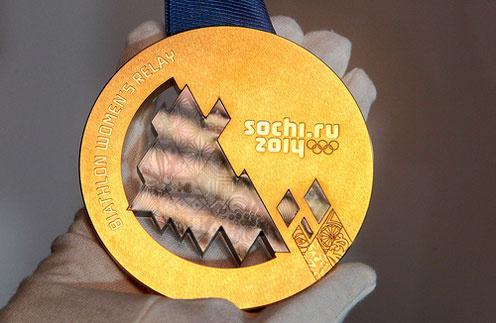 Золотая медаль Сочинской Олимпиады