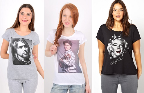 Серая и белая футболка ТВОЕ, черная ASOS