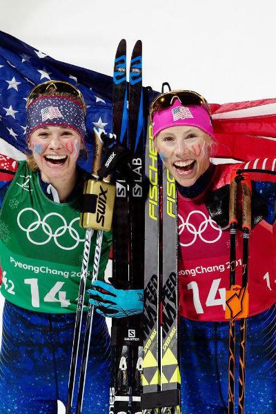 Киккан одержала победу в командном спринте среди женщин на Олимпиаде в Пхенчхане