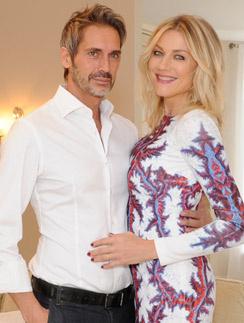 Наталья Стефаненко с мужем Лукой