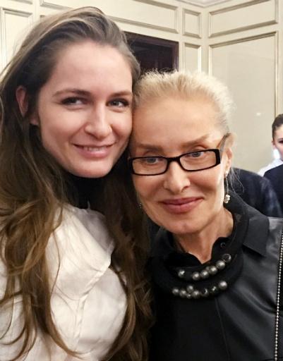 Ольга Свиблова и Юлия Силина