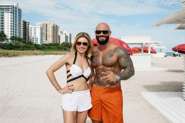 Инна Маликова с рэпером Джиганом