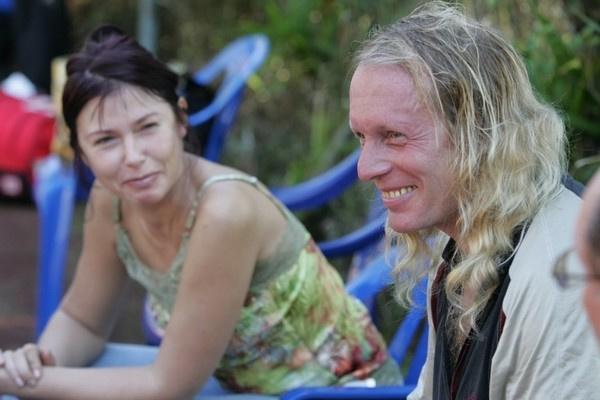 Крис Кельми с супругой Людмилой