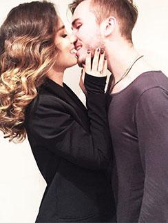 Виктория Дайнеко и ее возлюбленный Дмитрий Клейман