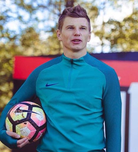 Андрей Аршавин теперь звезда казахстанского футбола