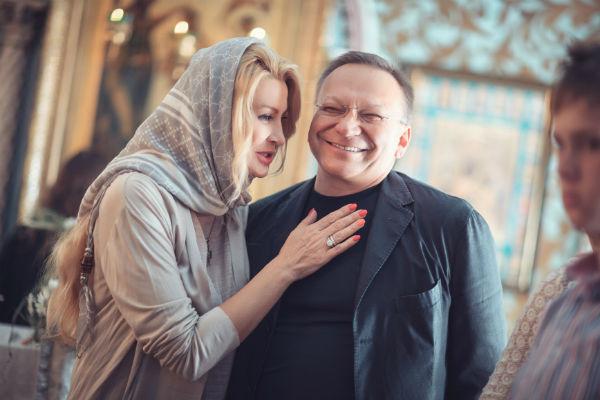 Крестные малыша - Ладлена Фетисова и Игорь Угольников