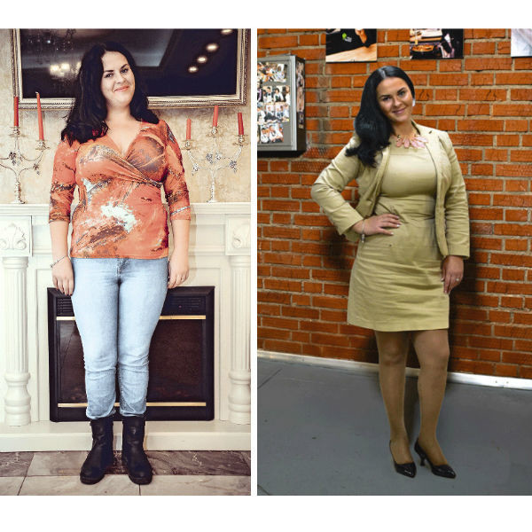 Соня Давудова, блогер из Нижнего Новгорода. ДО:88 кг. ПОСЛЕ: 78 кг