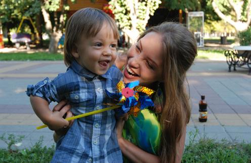 Полина Диброва считает, что детей нужно баловать