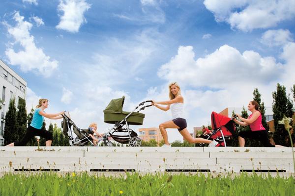 Фитнес с младенцем