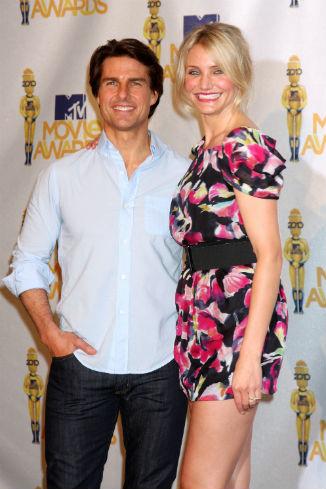 Том Круз и Кэмерон Диас на MTV Movie Awards