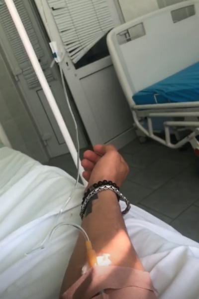 Павел оказался на больничной койке