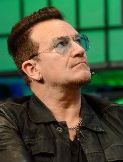 Солист группы U2 Боно