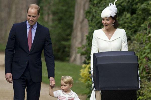 Семья герцога и герцогини Кембриджских