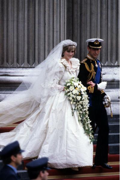 Свадьба Чарльза и Дианы состоялась в 1981 году