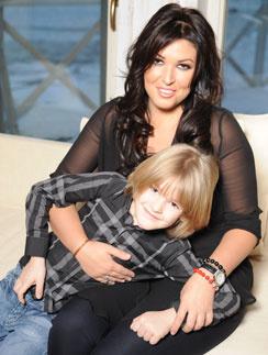 Ирина Дубцова с сыном Артемом
