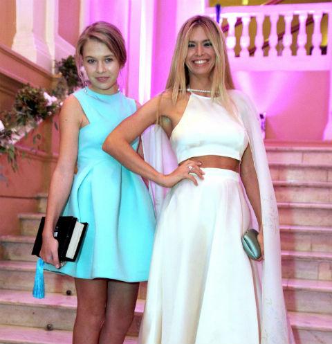 Вера Брежнева с дочерью Софией