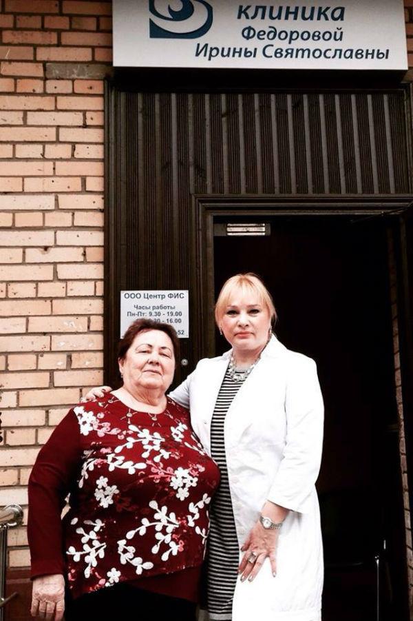 Оренбурженка Любовь Лисовицкая теперь отлично видит и знает: дочь не подвела отца
