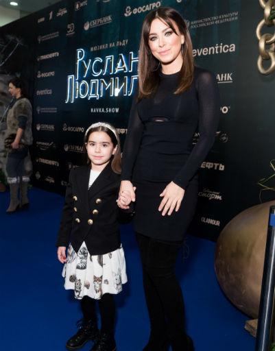 Ани Лорак с дочерью Софией