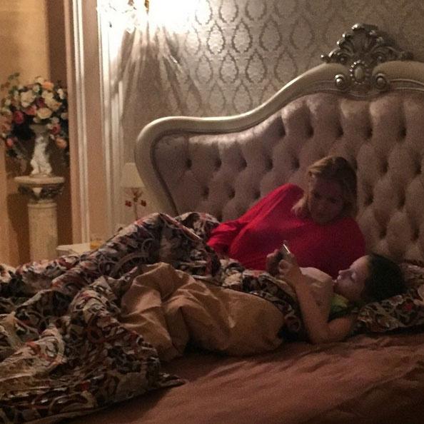 Спальня Анастасии Волочковой