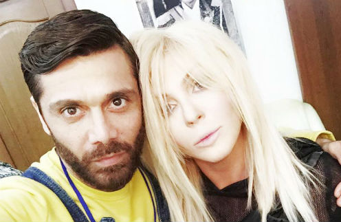 Аслан Ахмадов и Ирина Билык