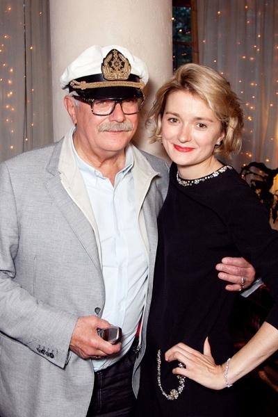 Никита Михалков с дочерью Надеждой Михалковой