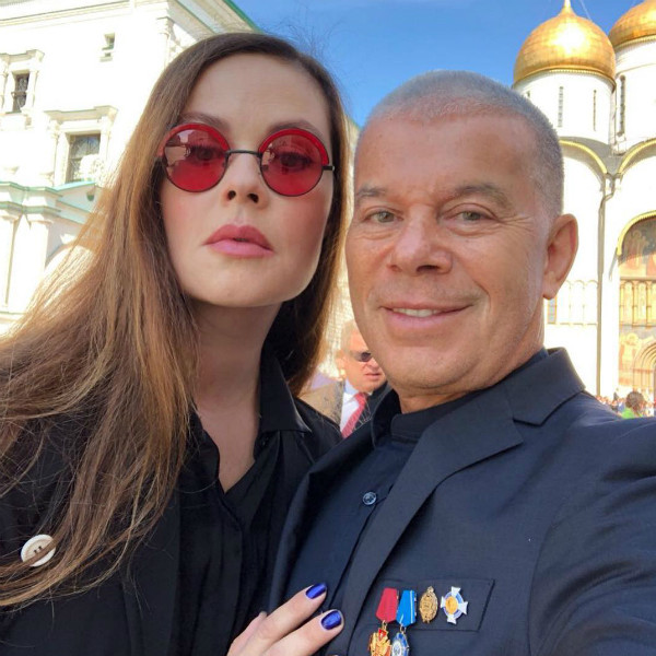 Телеведущая и Олег Газманов в Кремле