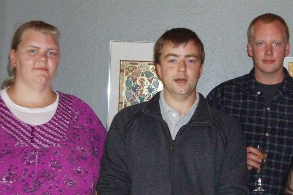 Семья Дюрбю: дочь Кристина, сыновья Ларс Кеннет и Михаил Даниэль