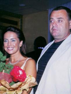Жанна Фриске с отцом Владимиром Борисовичем