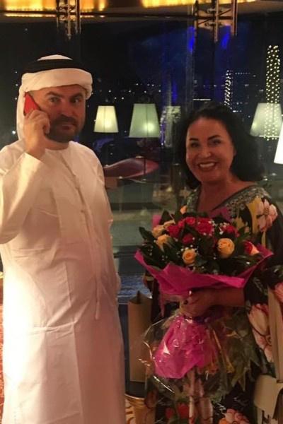 Надежда Бабкина ездила с возлюбленным в Дубай