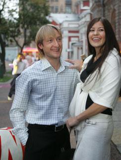 как познакомились плющенко и рудковская