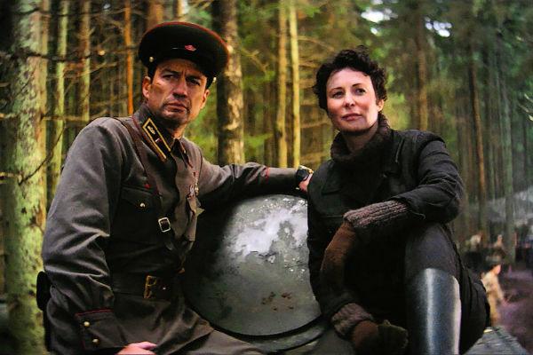 Это далеко не первая работа, в которой Андрей Чернышов играет возлюбленного героини Погодиной