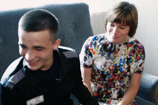 Ольга Семенова навестила сына в тюрьме