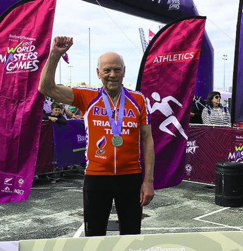 Первый российский чемпион в триатлоне