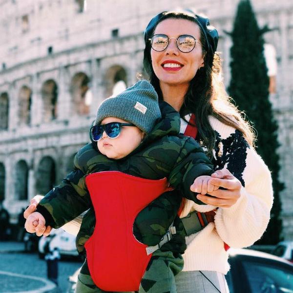 Анна Седакова с сыном