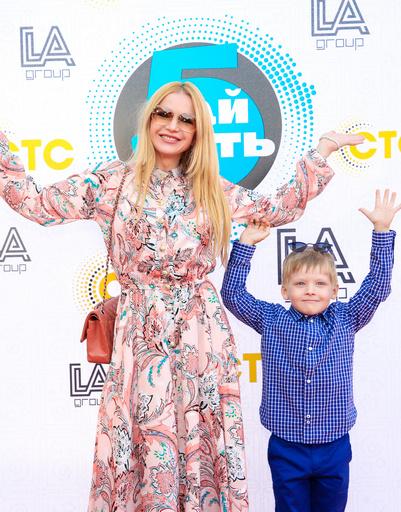 Юлия Михальчик с сыном