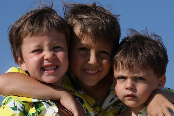 Дети Полины и Дмитрия