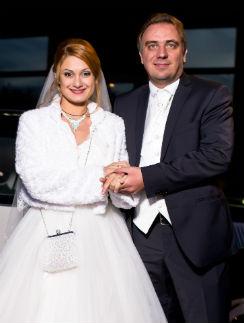 Актриса Карина Мишулина с мужем Иваном