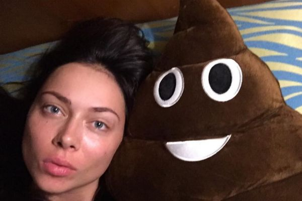 Настасья Самбурская показала забавную подушку