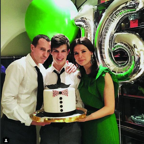 На прошлой неделе Верник с первой супругой Марией отметили день рождения сына Гриши