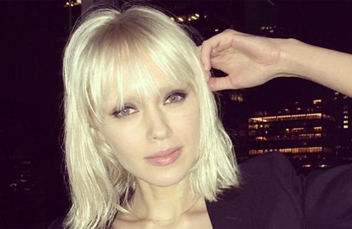 Ксения Сухинова сменила имидж и стала платиновой блондинкой