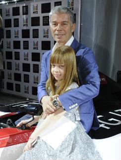 Олег Газманов с дочкой Марианной