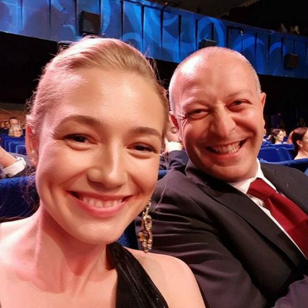 С мужем Арчилом Геловани