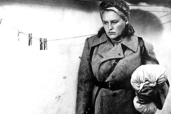 В картине «Комиссар» актриса сыграла женщину с сильным характером