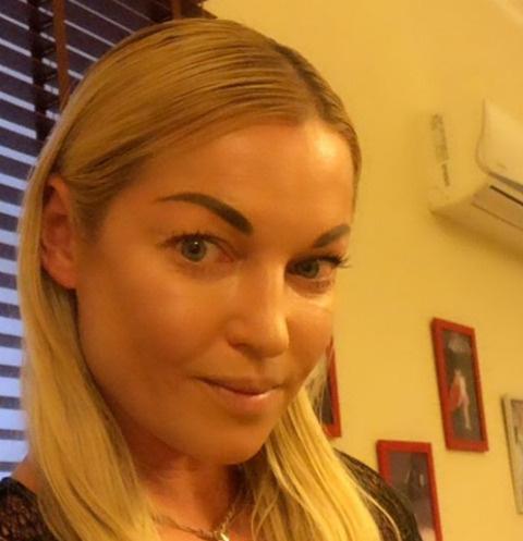 Анастасия Волочкова спасалась бегством от навязчивой фанатки