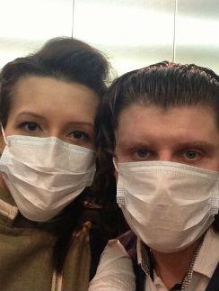 Елена Борщева (слева) с подругой