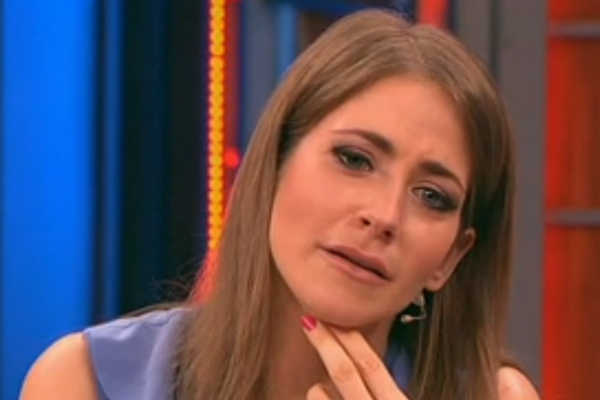 Юлия эмоционально отреагировала на речь своей мамы