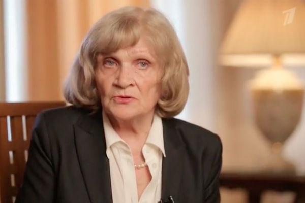 Людмила, родная сестра Нонны Мордюковой